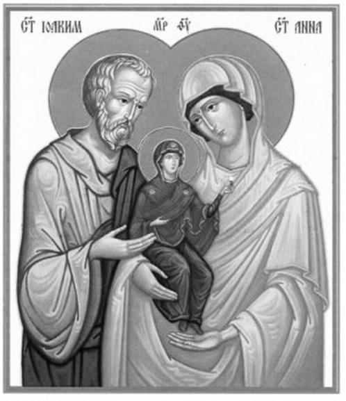 ікона Свята Анна і Іоаким